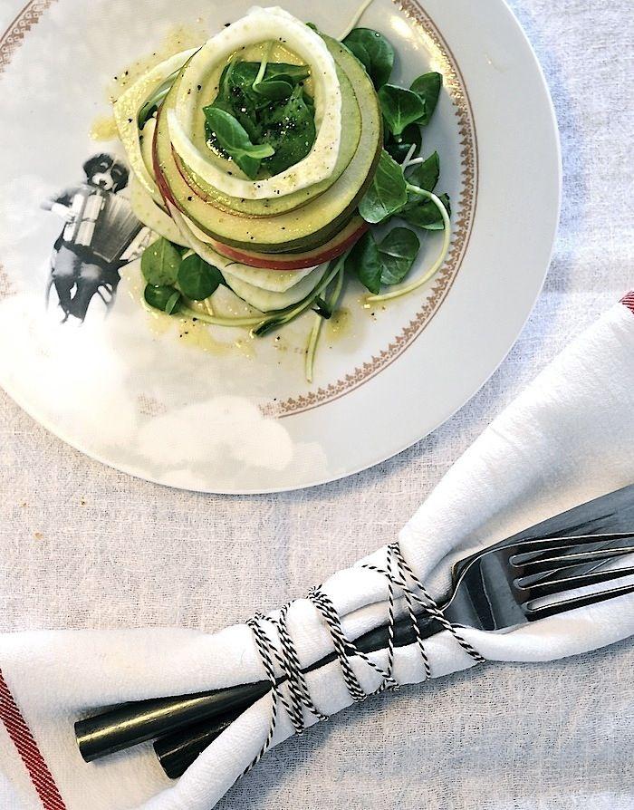 Apple, Pear and Fennel salad | Food | Pinterest