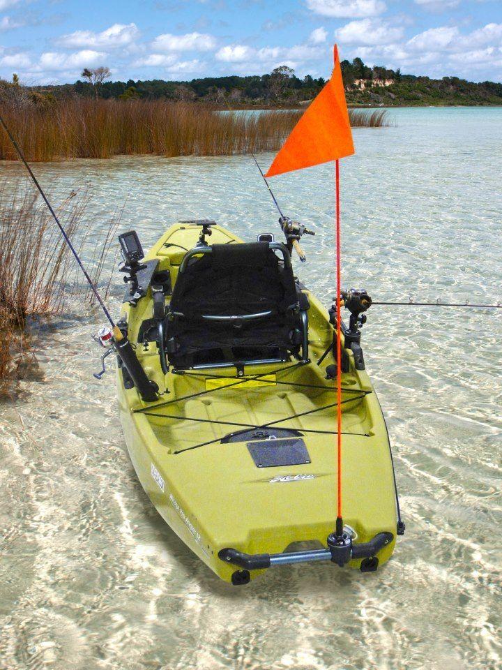 Kayak fishing gear