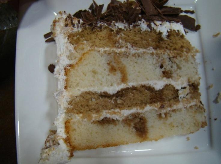 Tiramisu Layer Cake - cake meets tiramisu, YUMMO!