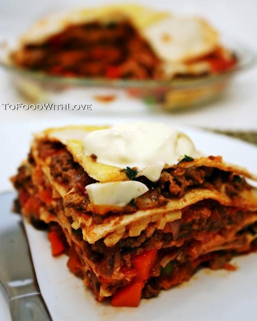 Tortilla Pie   oh my pie   Pinterest