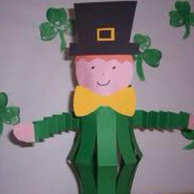 Leprechaun craft | St Pats Day / Easter | Pinterest