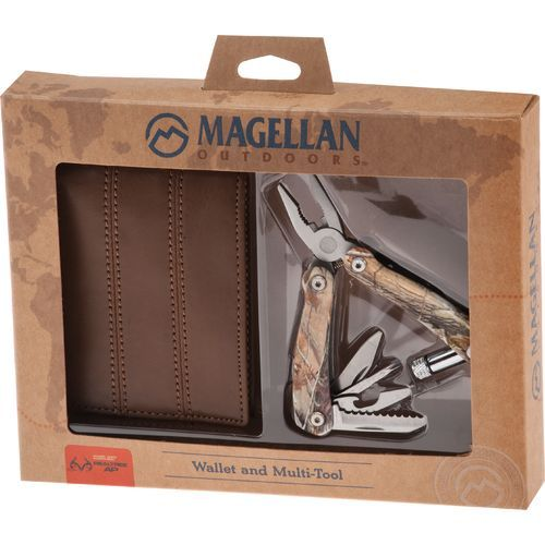 Magellan Outdoors Wallet and Deluxe Multi-Tool Set