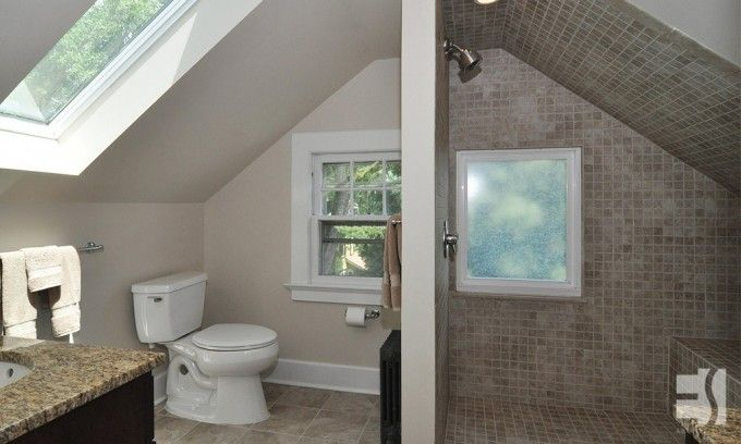 small attic bathroom remodel - Attic Renovation Attic Renovation
