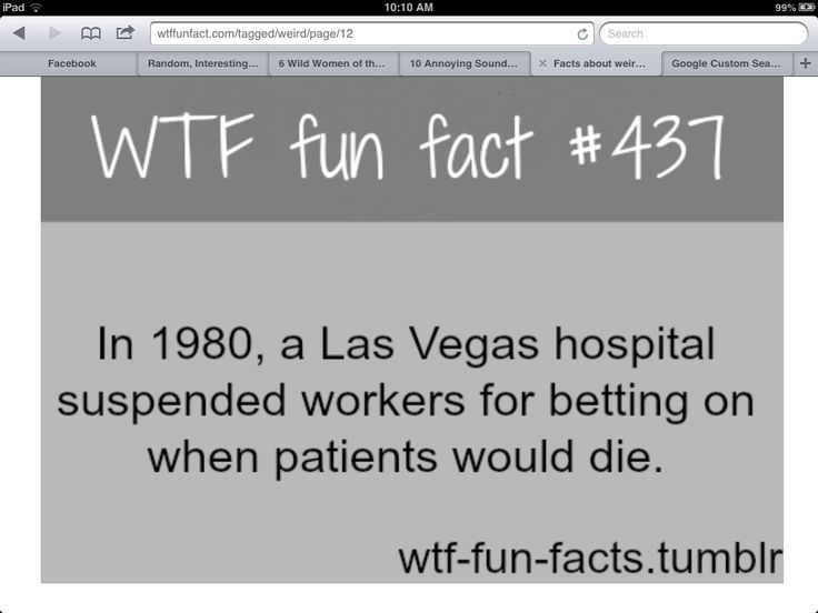 Wtf facts wtf fun facts pinterest for Amazing facts about las vegas