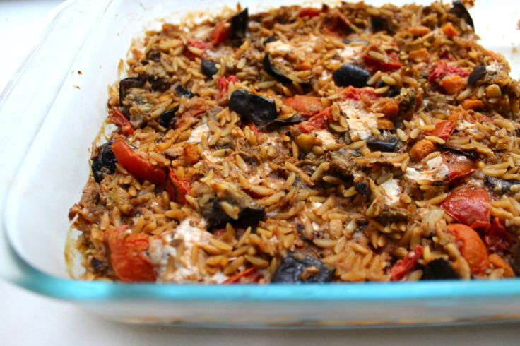 Milk & Mode: Baked Orzo with Eggplant and Mozzarella | My Recipes ...