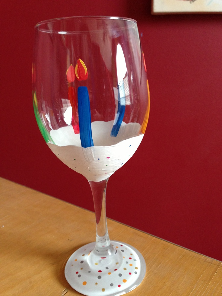 Hand painted wine glass craft ideas pinterest for Wine glass ideas
