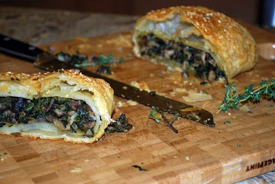 The Vegan Version: Mushroom Wellington | Food | Pinterest