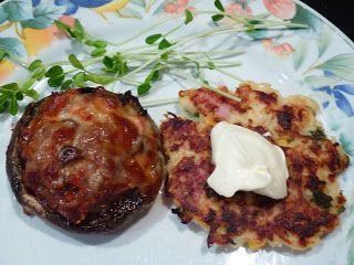 Bacon Cheddar Cauliflower Fritters Recipe — Dishmaps