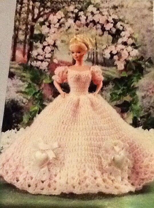 annie s crochet pattern sweetheart ball gown barbie pattern