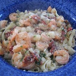 Linguine with Seafood and Sundried Tomatoes Allrecipes.com