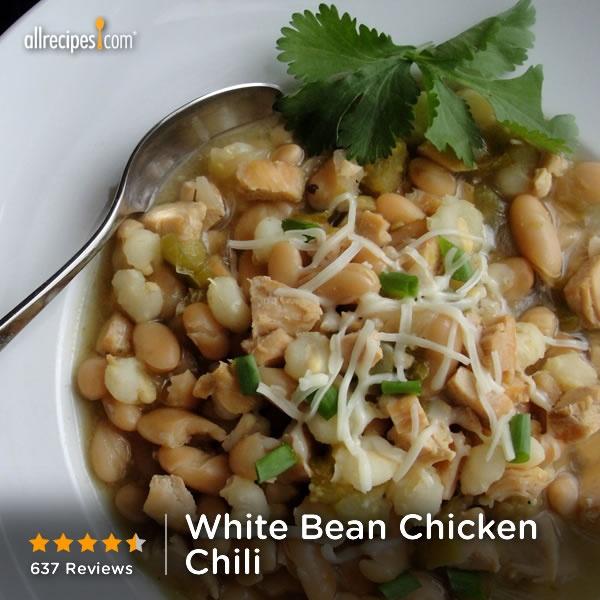 Feb 27- National Chili Day | White Bean Chicken Chili