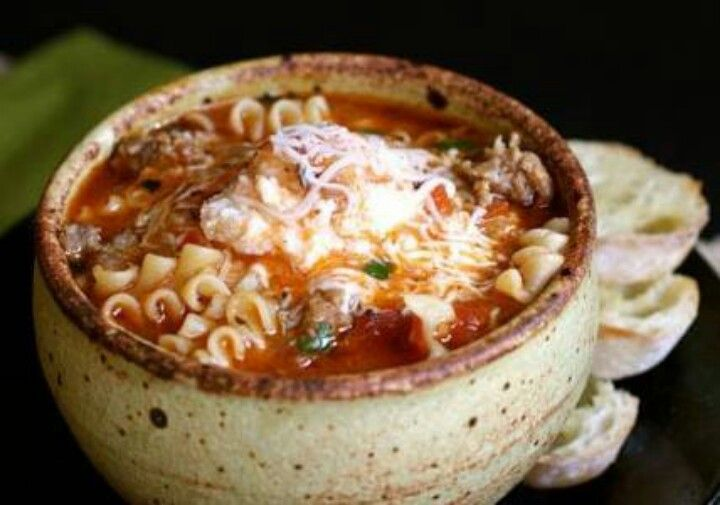 Slow cooker groundbeef lasagna soup | Recipes | Pinterest