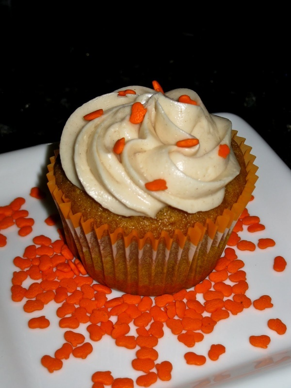 Pumpkin Spice Cupcake Recipe | Goodness | Pinterest