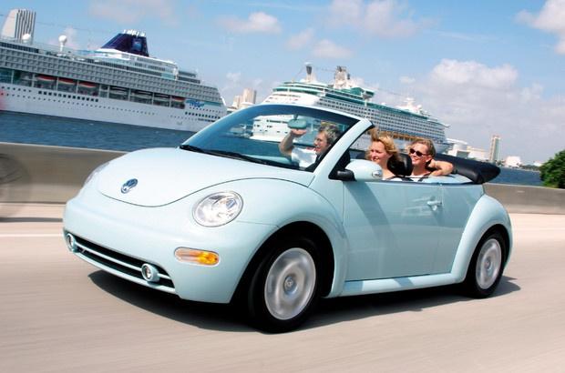 Volkswagen Beetle convertible style
