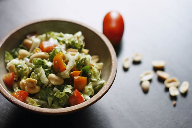 lime peanut coleslaw | Recipes .... oh you so savory | Pinterest