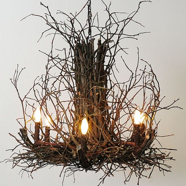 Tree Branch Chandelier Exclusive