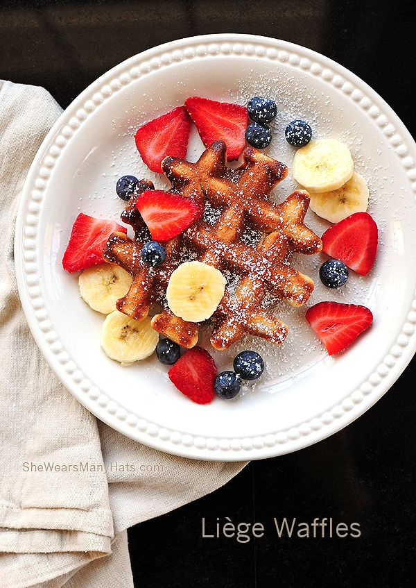 LIÈGE WAFFLES--OMG THESE ARE THE WAFFLES FROM THE WAFFLE TRUCK IN ...