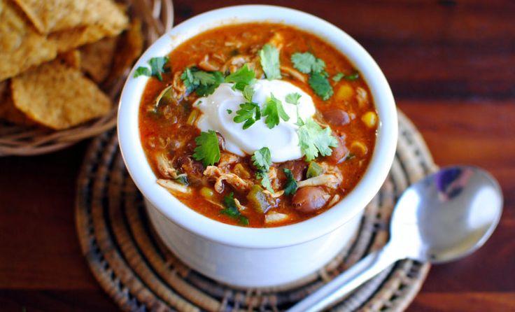 Southwest Chicken Chili | Recipes | NoshOnIt