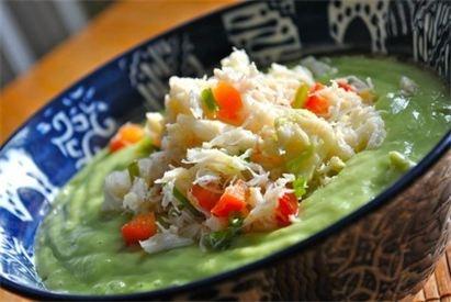 Avocado And Crab Soup Recipes — Dishmaps