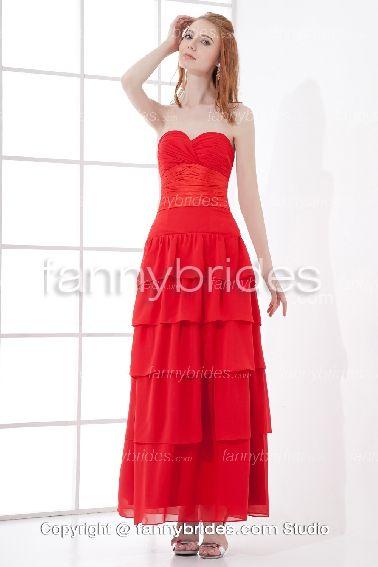 Red Prom Dresses 2014