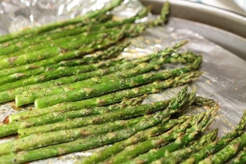 Oven Roasted Asparagus | Feed Your Soul Recipes | Pinterest