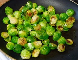 Sauteed Brussel Sprouts - It seemed like a good idea...until I burnt ...