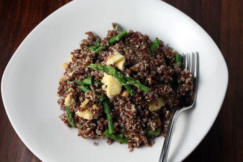 Tabasco and Asparagus Quinoa | My Addiction | Pinterest