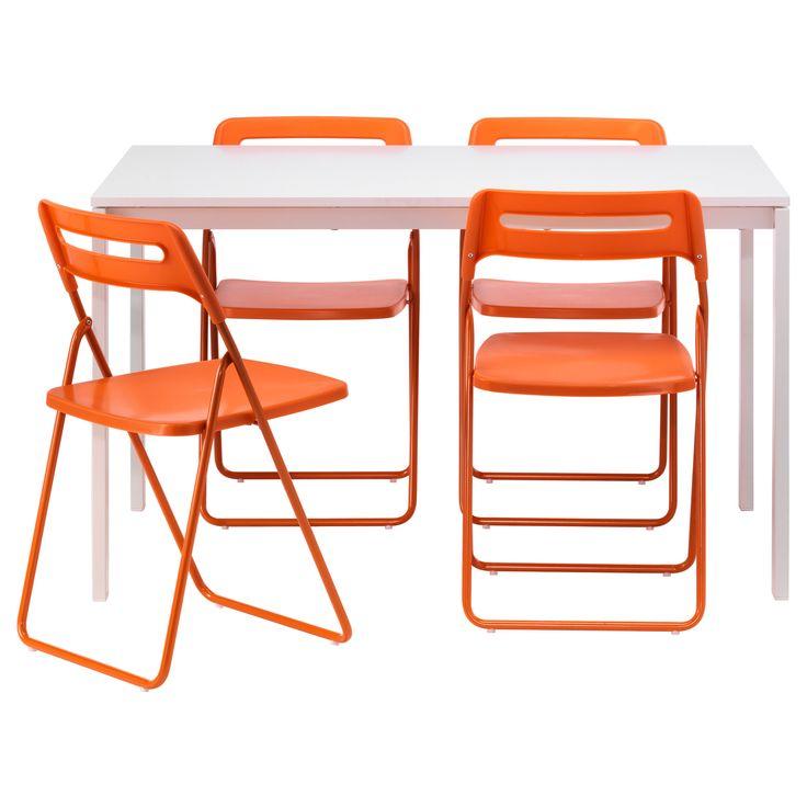 MELLTORP/NISSE Tavolo e 4 sedie - IKEA