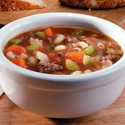 Ground Beef Vegetable Soup | food not yet posted to boards | Pinterest