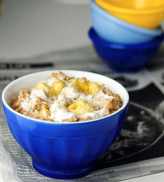 Peanut Butter Breakfast Pudding, this is actually healthy!