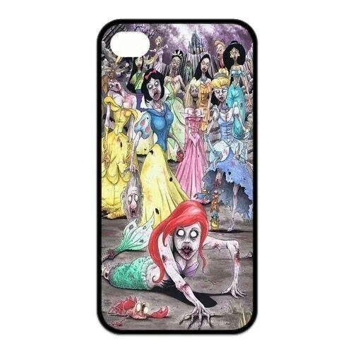 Samsung samsung galaxy s4 cell phone cases : Disney princess zombies phone case : Cool Stuff : Pinterest