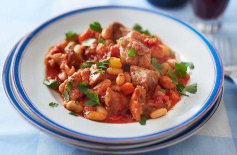 Pork Cassoulet - Tesco Real Food - Tesco Real Food