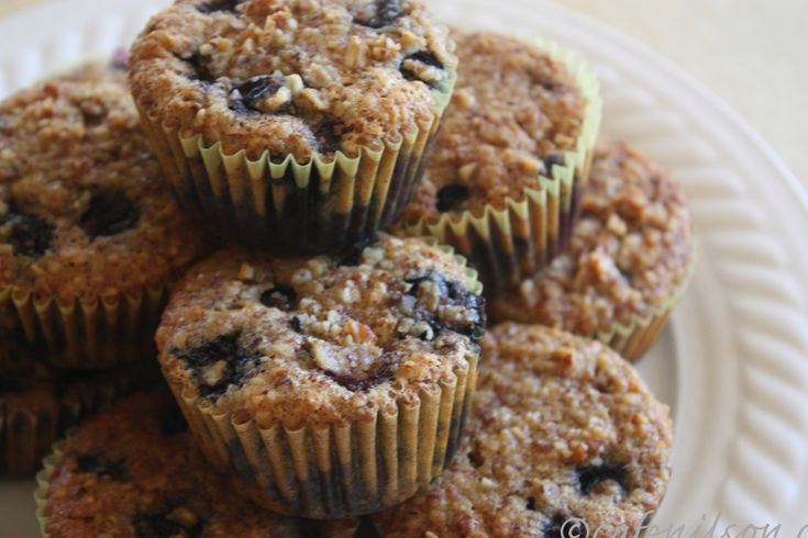 Almond flour blueberry muffins. Yummy | BARS, BROWNIES, PUFFS | Pinte ...
