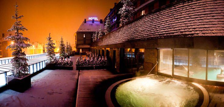 hoteles con encanto baqueira: