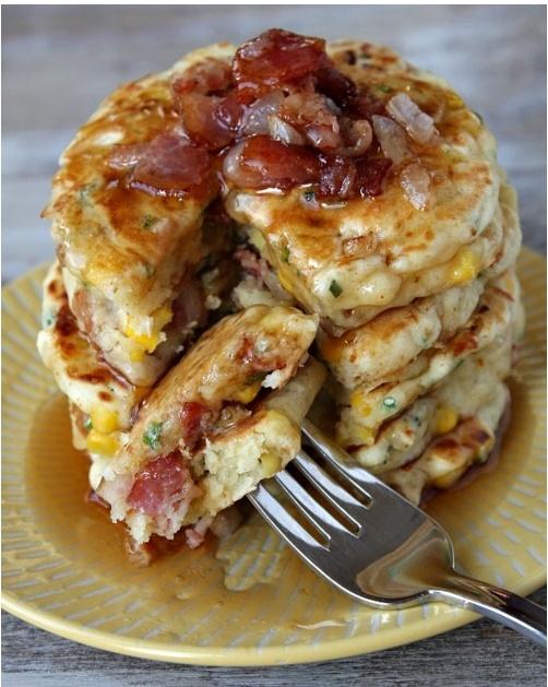 Bacon Pancakes | Feed Me | Pinterest