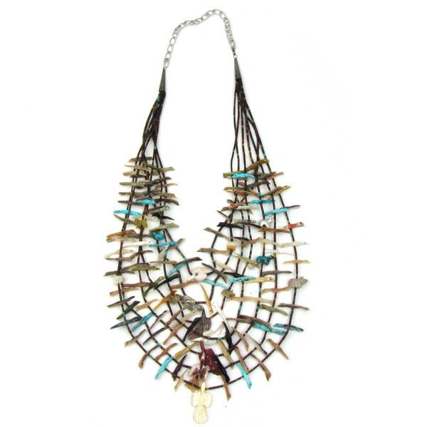 Zuni Fetish Necklaces 89
