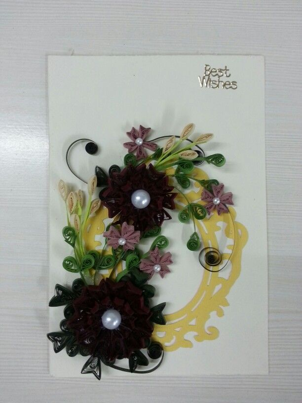 Quilling greeting cards | Quilling projects | Pinterest