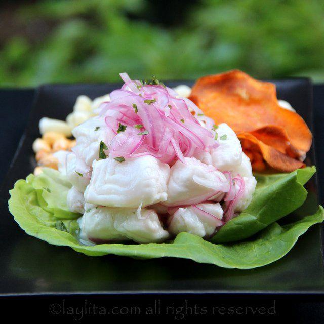 Peruvian fish cebiche or ceviche | Recipe