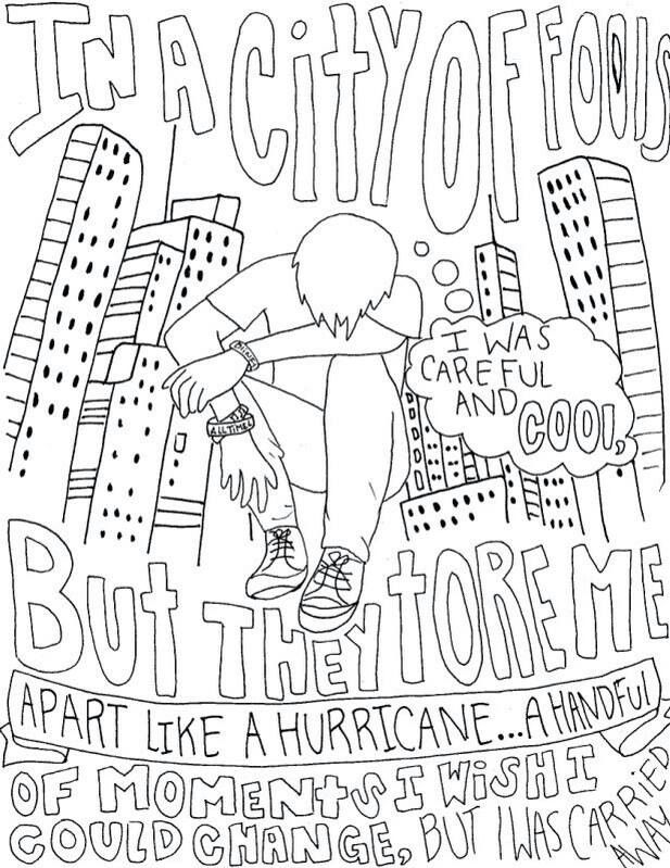 Colouring Book Lyrics By Kartel : Pin by raquel shores on music life lyrics bands merch