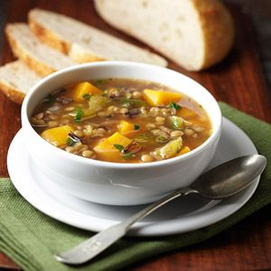 ... 25 Favorite Fall Recipes - Butternut Squash, Lentil and Wild Rice Stew