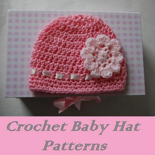 Crochet Baby Beanie Pattern Easy : Free Baby Beanie Crochet Patterns Makin stuff Pinterest
