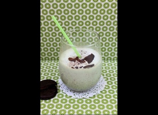 Boozy Thin Mint Milkshake (Follow link for other frozen alcoholic ...