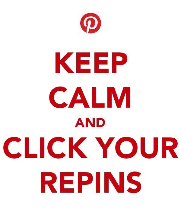 CLICK YOUR REPINS