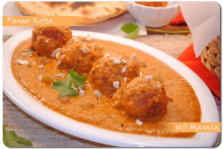 Stuffed Paneer Kofta Curry | Indian | Pinterest