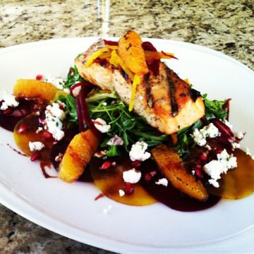 cheese and fresh sage grilled beets with fresh goat cheese dressing ...