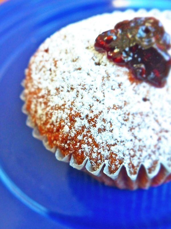 Raspberry Lime Polenta Muffins | Recipe
