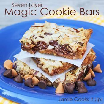 Image for Seven Layer Magic Cookie Bars | Desssssert! | Pinterest