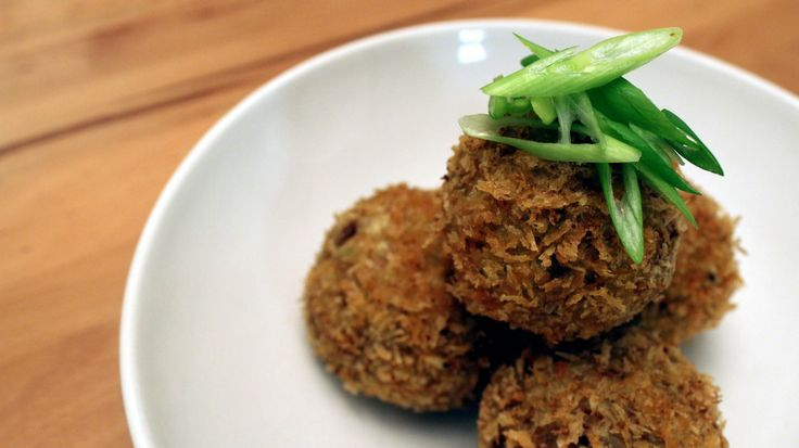 Boudin balls | Food - FritPatCake (Fritters / savory cakes / Patties ...