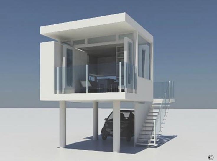 Minimalist Cube Home - Home Designs