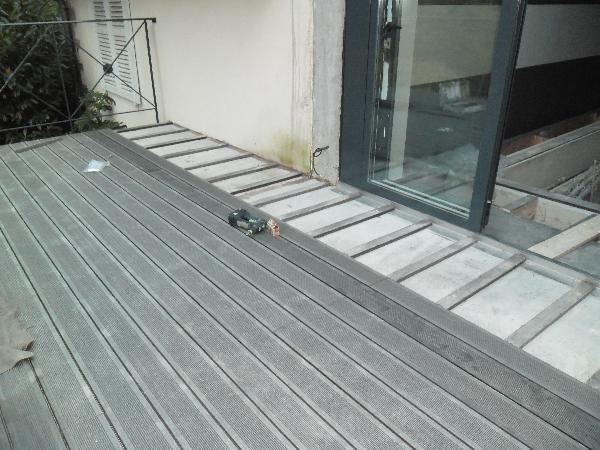 Fabulous Best Pose De Terrasse En Bois Sur Dalle Beton Deco Maison Design  With Casser Dalle Beton With Comment Monter Une Terrasse En Bois